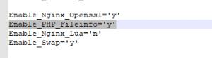 【lnmp1.6一键包】开启PHP模块fileinfo扩展及安装教程